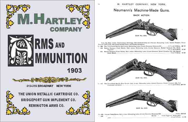 M. Hartley Company 1903 Gun and Sports Catalog