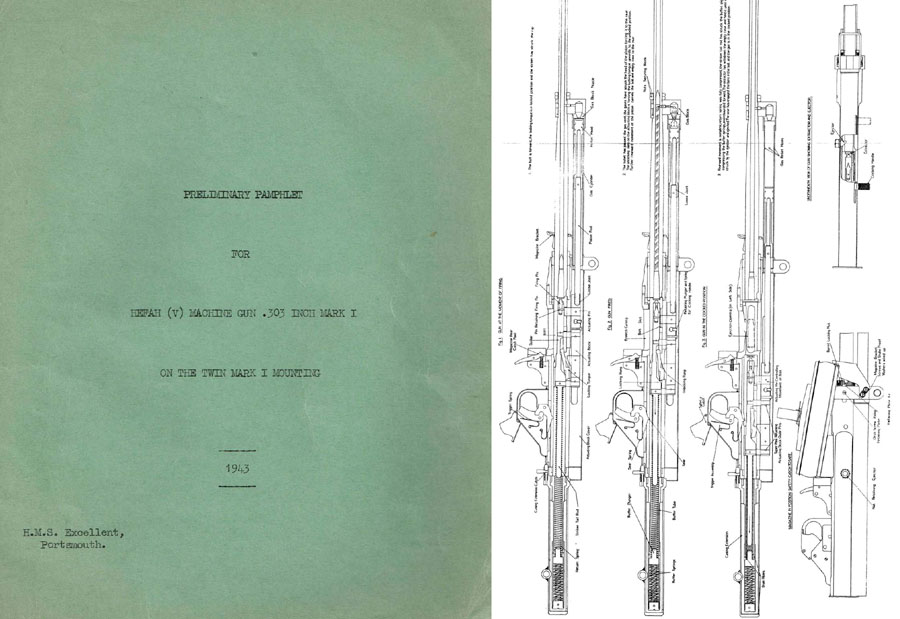 Hefah (V) 1943 Machine Gun Mk.I Preliminary Report (UK Guide)