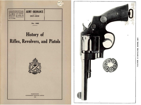 History of Rifles, Revolvers and Pistols 1920 Army Ordnance Publ.