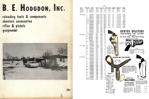 Hogdon, BE- 1958 Reloading, Acc, Rifles and Pistols-Shawnee Mission