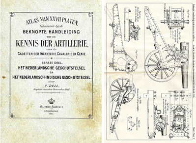 Dutch - 1906 Images of Artillery and Projectiles