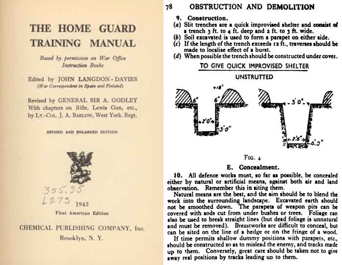The Home Guard Training Manual 1942 (UK)