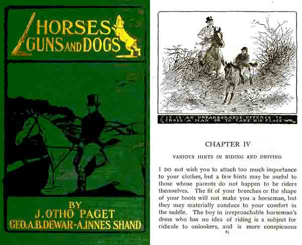 Horses Guns and Dogs 1903