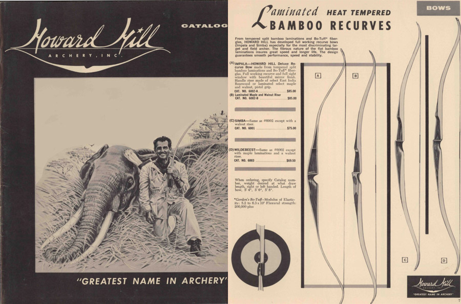 Howard Hill Archery 1962 Catalog