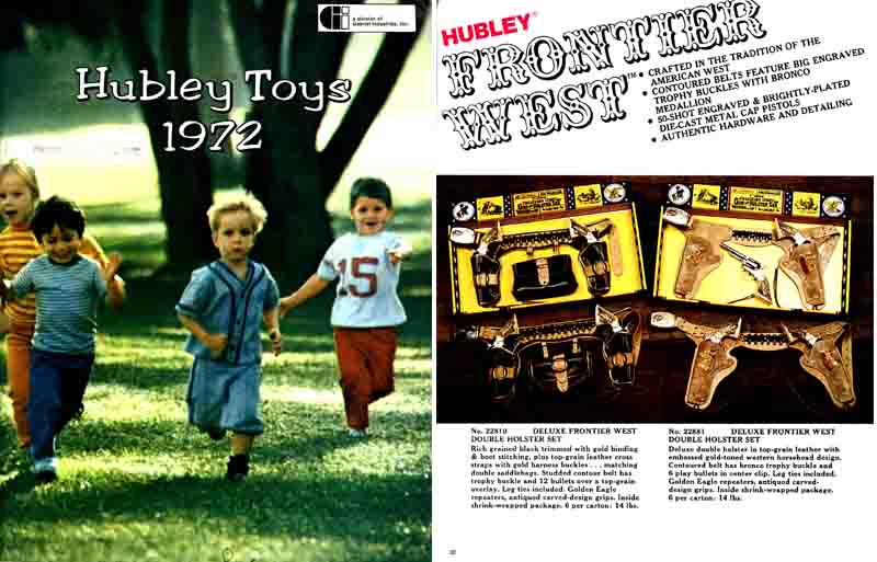 Hubley 1972 Toy and Cap Gun Catalog