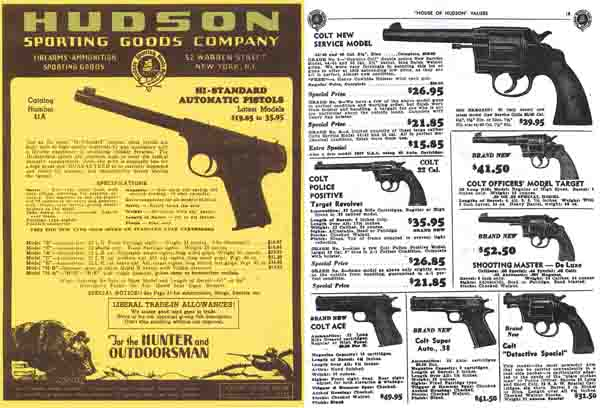 Hudson Sporting Goods 1941 Catalog