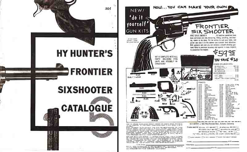 Hy Hunter's 1956 Frontier Sixshooter Catalog