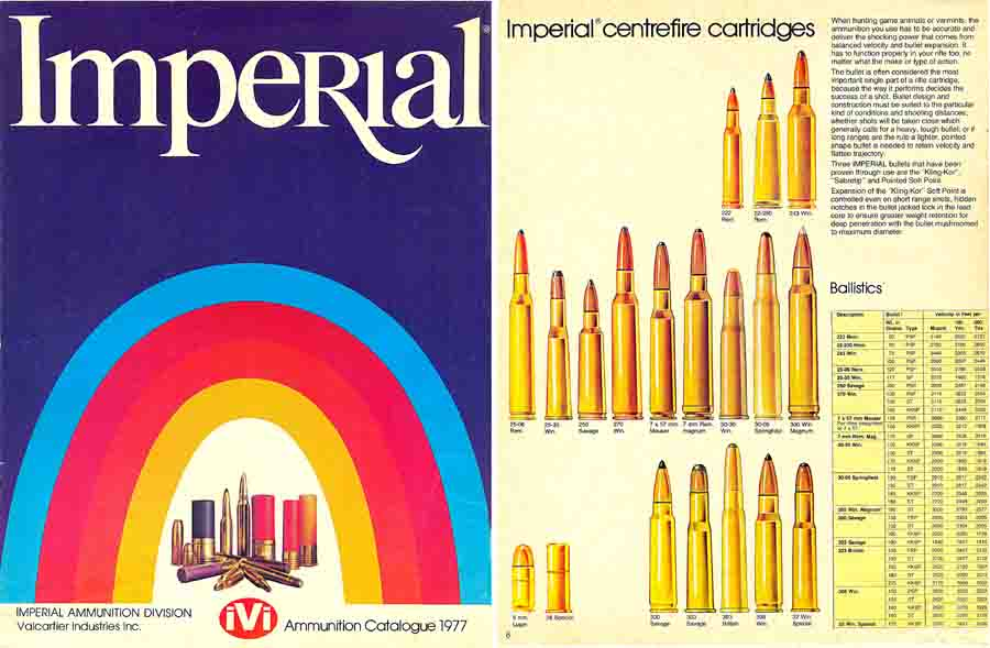 Imperial Ammunition 1977- Quebec, Canada