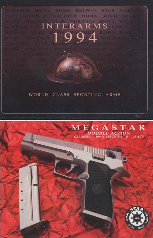 Interarms 1994 Gun Catalog