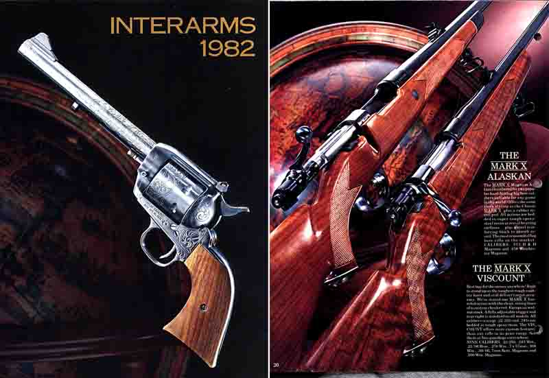 Interarms 1982 Catalog