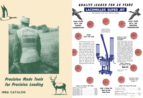 Lachmiller 1969 Engineering Co. Reloading Catalog