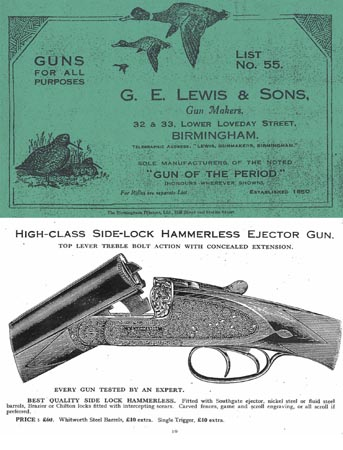 GE Lewis & Sons 1932 Gun Catalog