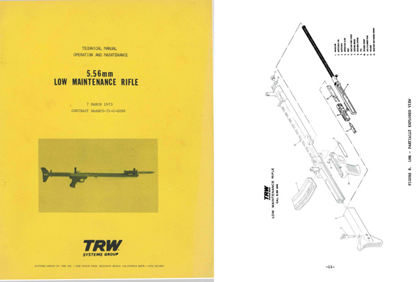 Low Maintenance Rifle by TRW 1973 Technical Manual