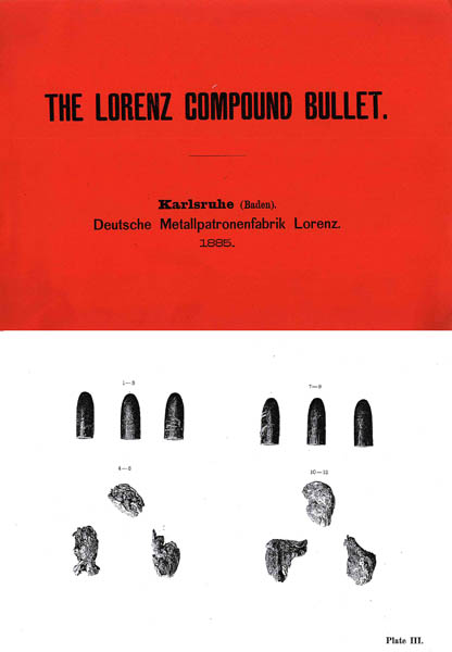 Lorenz Compound (Hollow) Bullet 1885 Baden, Germany