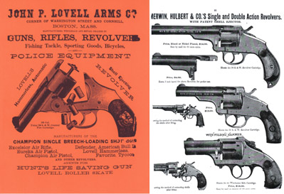 Lovell, John P. 1887 Gun Catalog, Boston