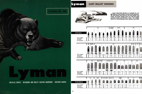 Lyman 1966 Reloading and Sights Catalog No. 48A