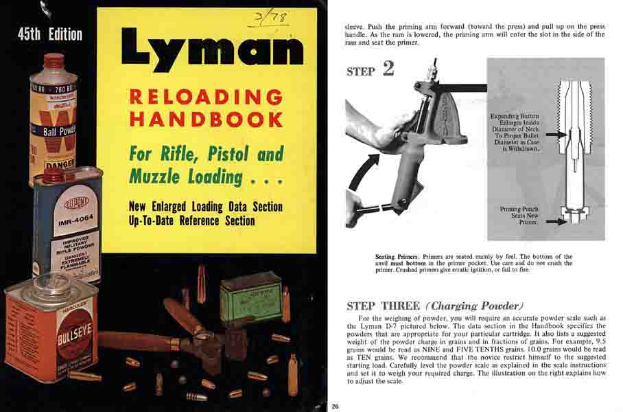 lee reloading manual 3rd edition