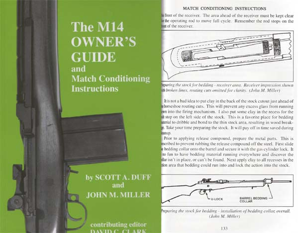 M14 Owner's Guide and Match Conditioning Instructions