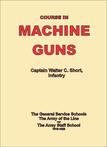 Course in Machine Guns 1919