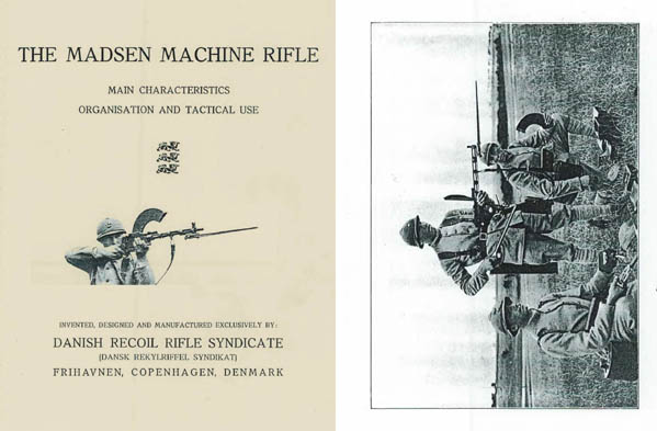 Madsen 1938 Model -1920 Machine Rifle Characteristics, Organisation and Tactical Use