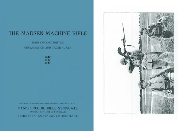 Madsen 1920 Model Machine Rifle Characteristics and Tactical Use