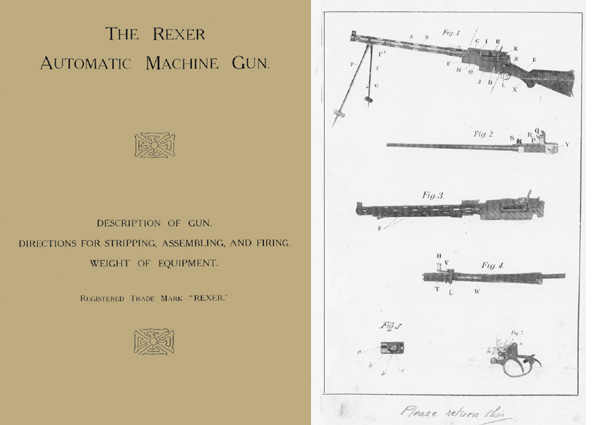 Madsen 1905 Rexer Automatic Machine Gun (English-UK)