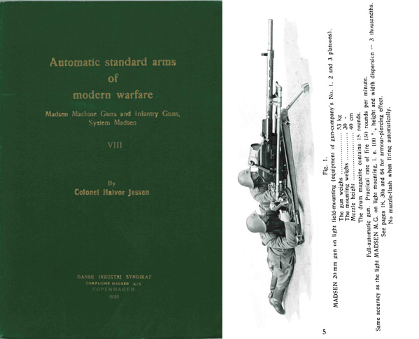 Automatic Standard Arms-1936 Madsen MGs and Infantry Guns VIII