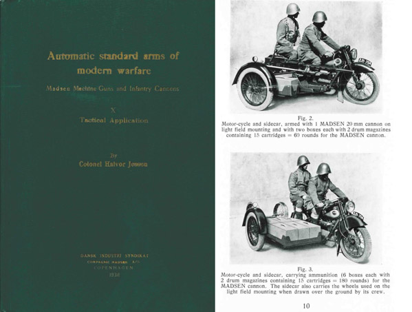Automatic Standard Arms-1938 Madsen MGs & Infantry Cannons X Tactical Application