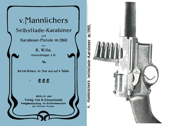 Steyr-Mannlichers self-loading rifles and carbines gun M/1901