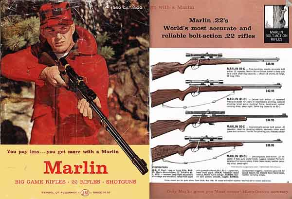 Marlin 1962 Firearms Catalog