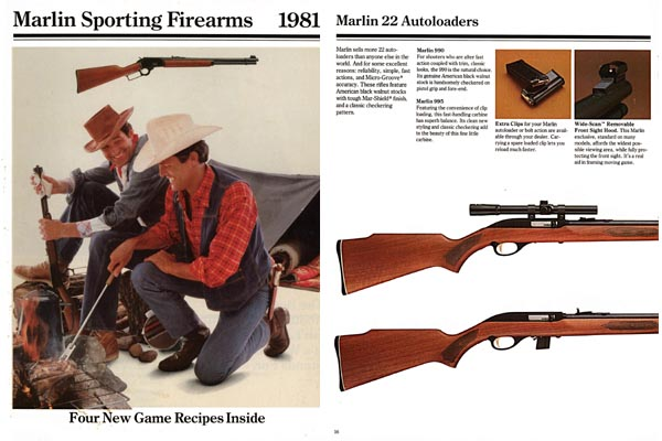 Marlin 1981 Firearms Catalog