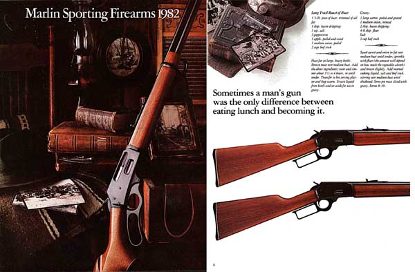 Marlin 1982 Firearms Catalog