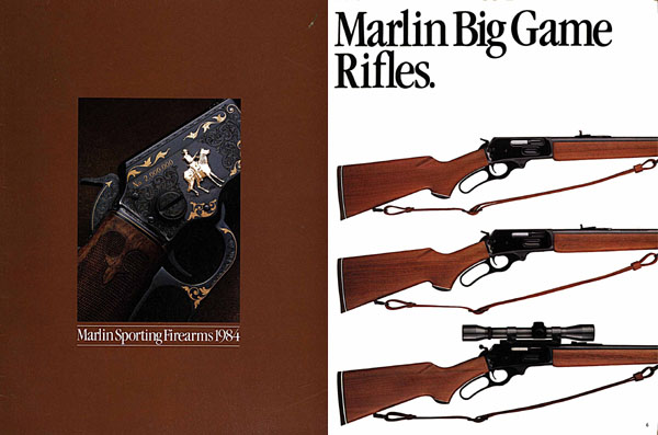 Marlin 1984 Firearms Catalog