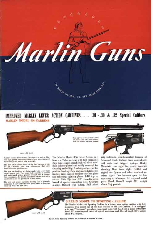 Marlin 1950 Gun and Rifle Catalog
