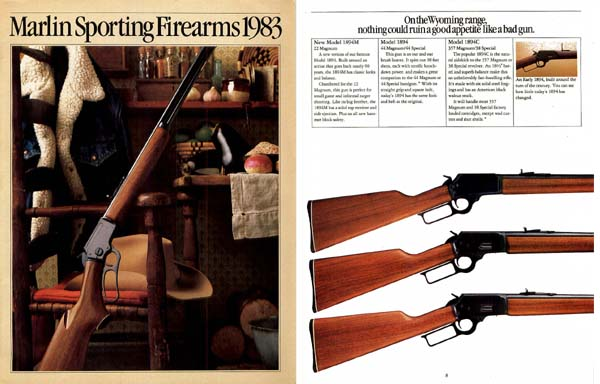 Marlin 1983 Firearms Catalog