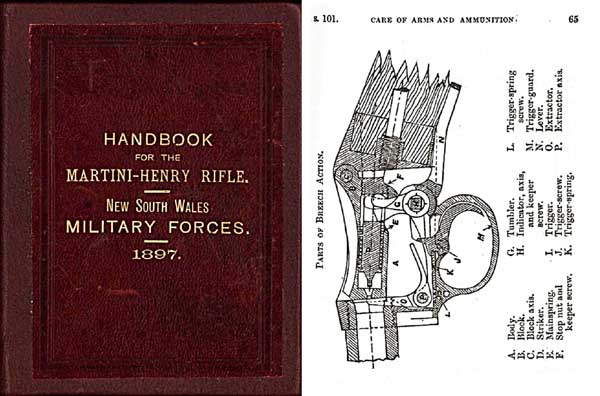 Handbook for the Martini-Henry Rifle-1897