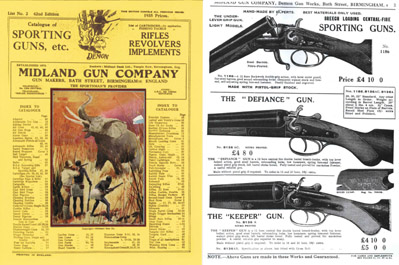Midland Sporting Guns 62nd ed- 1935 Catalogue