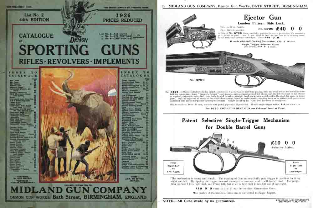 Midland Sporting Guns 44th ed - 1926 Catalog