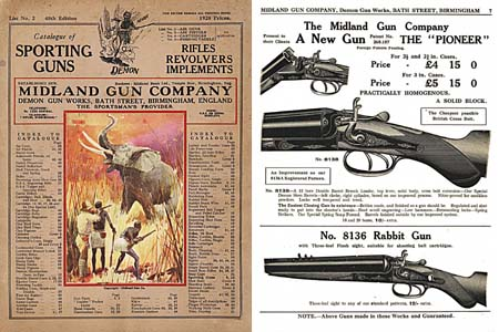Midland Sporting Guns 48th ed- 1928 Catalog