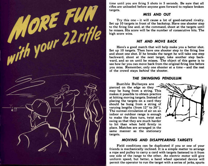 More Fun With Your 22 Rifle- Handbook of Gun Games