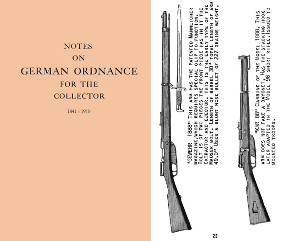 Notes on German Ordnance 1841-1918 for the Collector
