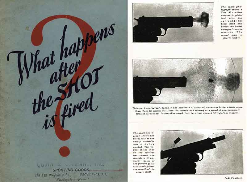 What Happens after the Shot is Fired? 1927 Peters Cartridge Company