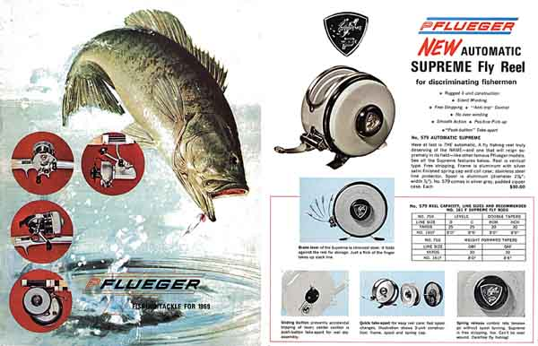 Pflueger 1969 Fishing Tackle