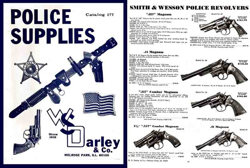 Darley, W.S. Police Supplies c1968-71 (Illinois)