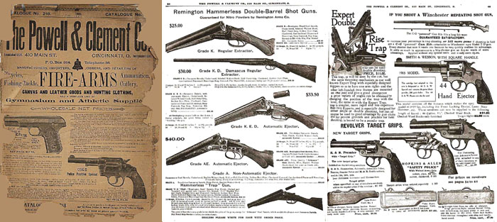 Powell and Clement 1909 Gun Catalog (Cincinnati Ohio)