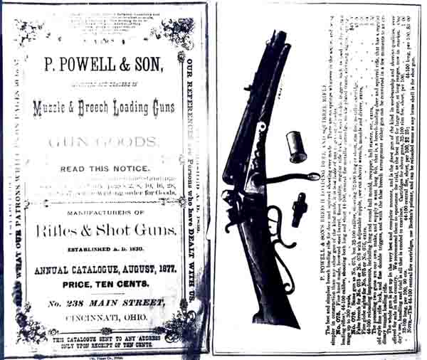 P. Powell 1877 Gun Catalog (Ohio)