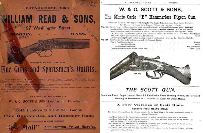 William Read and Sons 1902 Gun Catalog (Boston, MA)