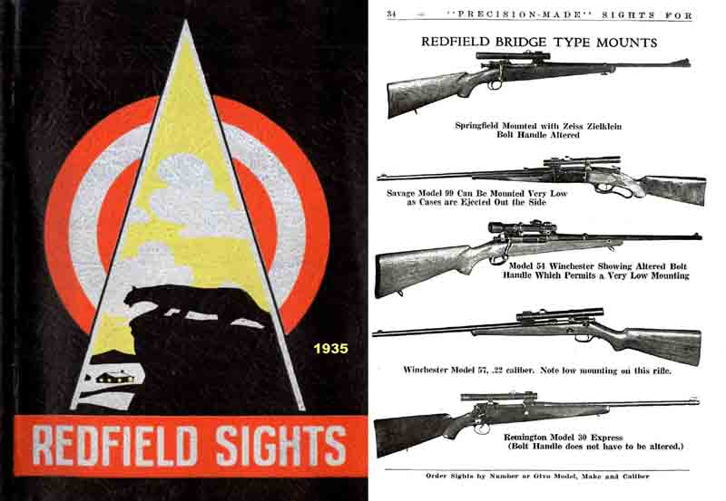 Redfield Sight 1935 Catalog