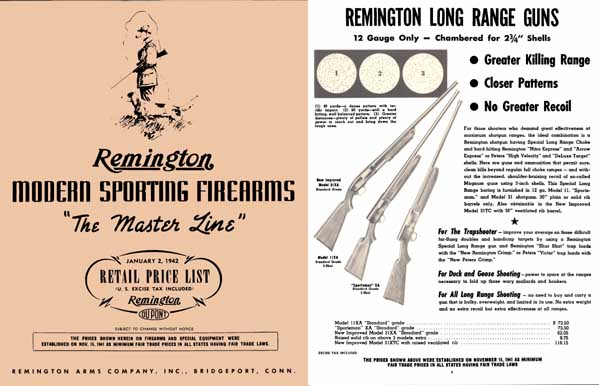 Remington 1942, January - Sporting Firearms