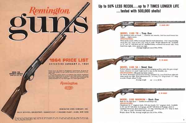 Remington 1964 Guns Price Guide